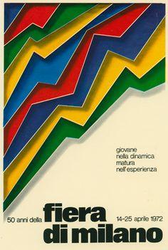 manifesto ufficiale della Fiera Campionaria di Milano, Studio CBC 1972
