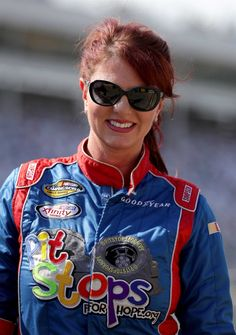 At-track photos: Charlotte All-Star Race weekend  Saturday, May 20, 2017  Jennifer Jo Cobb, driver of the No. 10 Driven2Honor.org Chevrolet, stands on the grid during qualifying for the Camping World Truck Series North Carolina Education Lottery 200 at Charlotte Motor Speedway on May 19, 2017 in Charlotte, North Carolina.  Photo Credit: Getty Images  Photo: 55 / 77