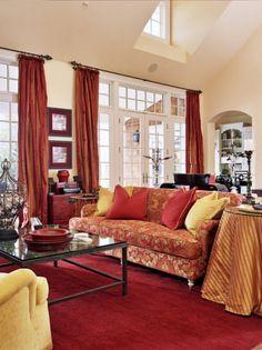 living by Tina Barclay http://www.houzz.com/photos/356163/Living-Room-traditional-living-room-portland