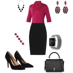 officewear by sonuelizabeth on Polyvore featuring ibex, Lanvin, Lipsy, Carven and Kendra Scott