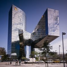 Natural Gas Headquaters | Barceloneta, Barcelona, Spain | EMBT | photo Peter Bennetts