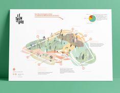 Cartographie sensible d'une parcelle agricole en agroécologie Architecture Presentation Board, Architecture Collage, Architecture Drawings, Presentation Design, Leaflet Design, Map Design, Book Design, Desgin, Urban Design Diagram