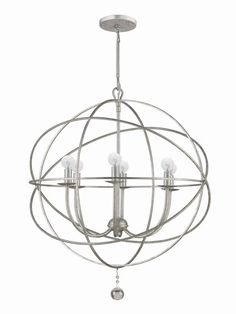 Solaris Chandelier by Crystorama at Gilt