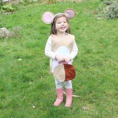 no sew gruffalo mouse costume