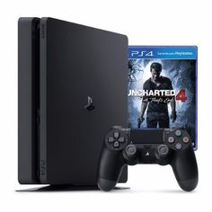 Playstation 4 Slim Sony 500gb Ps4 + Uncharted 4
