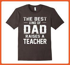 Mens The Best Kind Of Dad Raises A Teacher T shirt Small Asphalt - Careers professions shirts (*Partner-Link)