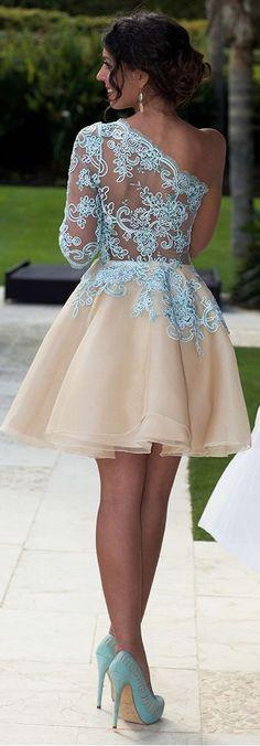 tulip, baby, blue, beige, gown, back, silvia, navarro