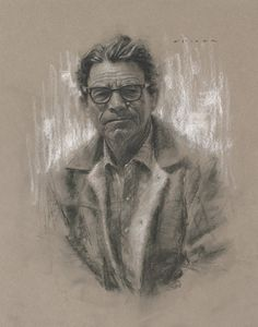 Casey Childs (charcoal drawing)