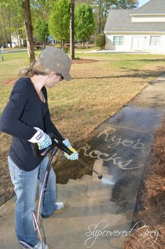 How To Clean A Patio With A Pressure Washer For The Home