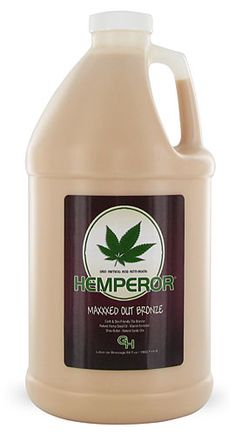 Hemperor MAXXXED OUT BRONZE 70x Bronzer is a new revolution in tanning and skin care. Hemperor as released the the smoothest, most advanced herbal bronzer on the market today and with amazing 70x bronzers!
