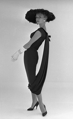 1957, Dress by John Cavanagh, photo by John French