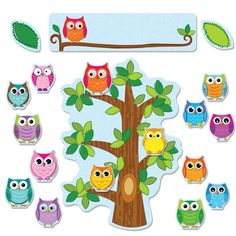 Carson Dellosa - Colorful Owls Behavior Bulletin Board Set on sale now! Find all of your classroom supplies at huge discounts at DK Classsroom Outlet. Bulletin Board Sets, classroom decorations, and more. Behavior Bulletin Boards, Bulletin Board Supplies, Owl Bulletin Boards, Attendance Board, Attendance Certificate, Owl School, Owl Theme Classroom, Classroom Teacher, Kindergarten Classroom