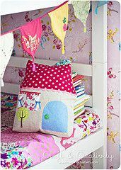 Fabric house pillow