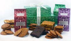Tate's Bake Shop Cookie and Bar Tower.  A great giveaway just in time for the holidays :)  #Flour Me With Love #bars #desserts #giveaways #cookies