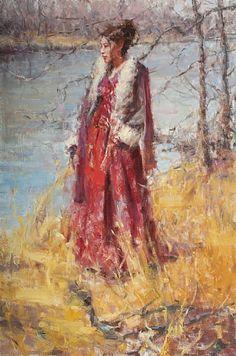 A Warm Breeze - Oil - Dan Beck art