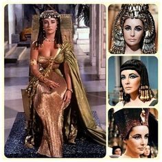 cleopatra- Elizabeth Taylor | Tumblr