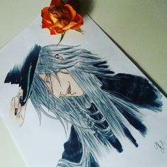 -Undertaker- from Black Butler/Kuroshitsuji *____* selfmade/drawing by me :D Tried my best Black Butler 4ever