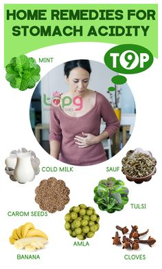 Top 9 Home Remedies For Stomach Acid..