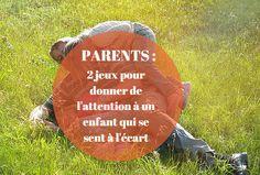 Remplir sans cesse le réservoir de l'enfant est le fondement des relations parent/ enfant. Voici 2 jeux pour sécuriser l'enfant sur l'amour de ses parents