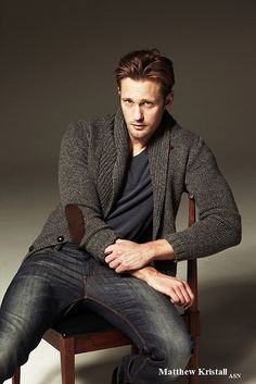 Alexander Skarsgard, so laidback and beautiful!!!