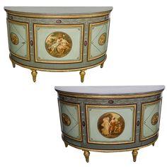 Antique Furniture, Cool Furniture, Modern Furniture, Painted Furniture, Estilo Adam, Fish Lamp, Shelves For Sale, Adam Style, Ceramic Fish