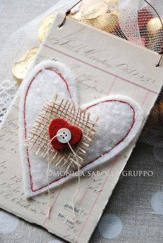 The White Bench: Make your own Mixed Media Valentines.
