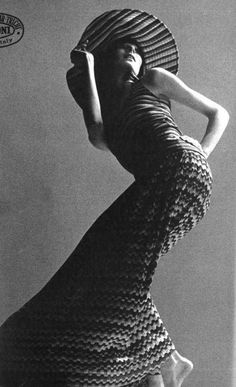 Missoni Campaign SS 1971 - Angelica Huston by Alfa Castaldi