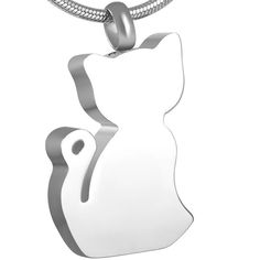 Cremation Urn Necklace Wholesale or Retail,Stainless Steel The Cat Cremation Urn Pendant for Pet Ashes,Women Accessories Memorial Urns, Cat Memorial, Pet Ashes Jewelry, Keepsake Urns, Pet Urns, Memorial Jewelry, Necklace Price, Hand Stamped Jewelry, Animal Jewelry