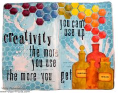 art journal creativity