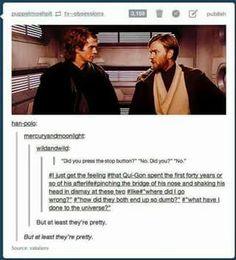 Obi Wan & Anakin