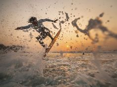 "National Geographic Photo of the Day - April 2014 ""Skimming the Surface"" captured at the small village of Urbiztondo in San Juan, La Union, Philippines. National Geographic Fotos, Uk Visa, Surfs, Ocean Life, Best Vacations, Weekend Getaways, Scenery, Waves, Explore"
