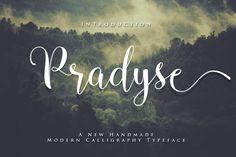 Pradyse Script by ianmikraz on Creative Market
