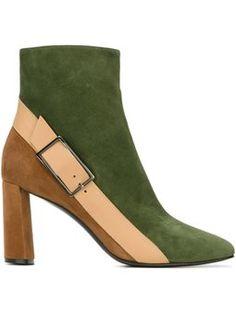 buckle detail boots   Casadei  $701.00