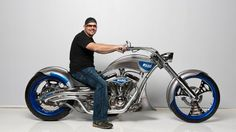 Photo of motorcycle for fans of Paul Jr. Occ Choppers, Custom Choppers, Custom Bikes, American Chopper, Chopper Motorcycle, Motorcycle Design, Orange County Choppers, Motos Harley Davidson, Mens Toys