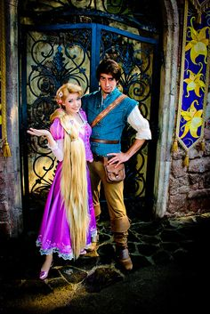 I hate how Rapunzel has blonde hair, because this means that she isn't free from Gothel