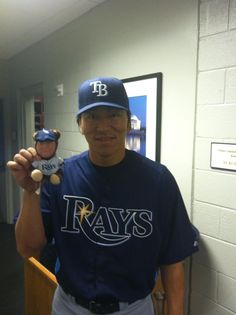 Matsui and the Zim Bear! Take one home Friday, June 29th!