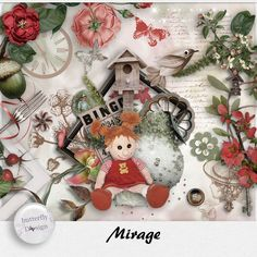 Digital Art :: Kits :: Mirage [Page kit] by butterflyDsign