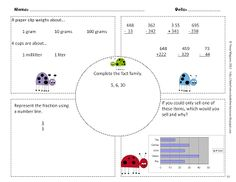 Tales from Outside the Classroom: 3rd Grade Common Core Math Warm Ups