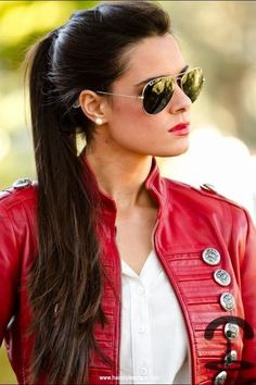 Biker Hair, Clothes & Misc. on Pinterest Biker Jackets, Harley ...