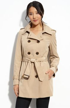 Calvin Klein Calvin Klein Trench with Zip Out Lining available at #Nordstrom