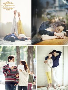 Korea pre-wedding photoshoot