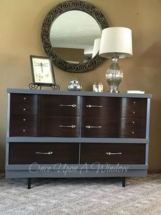 I had recently acquired a few pieces of one of my least favorite styles of furniture.  I had this guy for a few months when I finally decided I needed to clear…