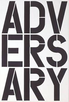 Christopher Wool - Adversary