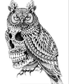 The skull-owl of Justice