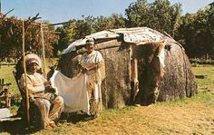 Chief Ne-gon-na-geseg and his wife