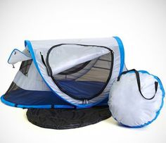 The Peapod Travel Bed is Perfect for Camping with Your Kids trendhunter.com