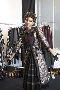 marcjacobs:  Willow Smith behind-the-scenes on our Fall'15 ad campaign