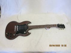 Original 2007 Gibson SG Faded Brown 490R 490T pickups · $400.00 Gibson Sg Faded, Gibson Sg Special Faded, Brown, Brown Colors