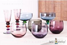 Szklanki różowe Spectra, Sagaform