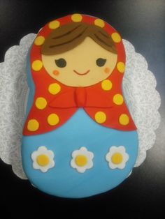 How cute is this cake from angiescakesandbakes.blogspot.com